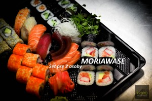Moriawase - Sushi set pre dve osoby
