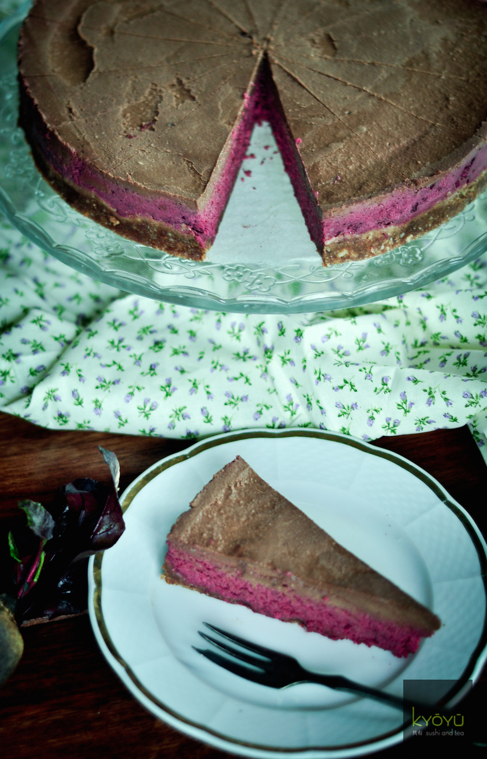 RAW dezerty (Recept na cviklový RAW koláč)