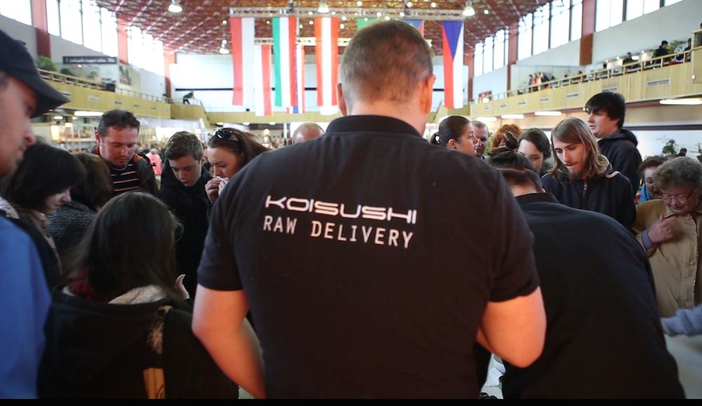 Sushi Catering na výstave Bonsai Slovakia 2015