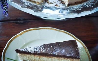 Kokosovo-čokoládová BOUNTY raw torta